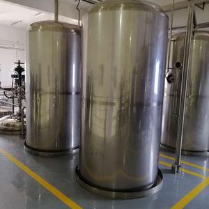 Laminar Tanks of Liquid Maltodextrine Line