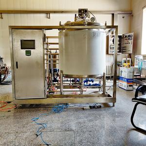 Whey protein polymerization reactor